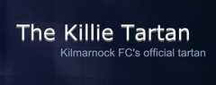 The Killie Tartan - Kilmarnock FC's official tartan